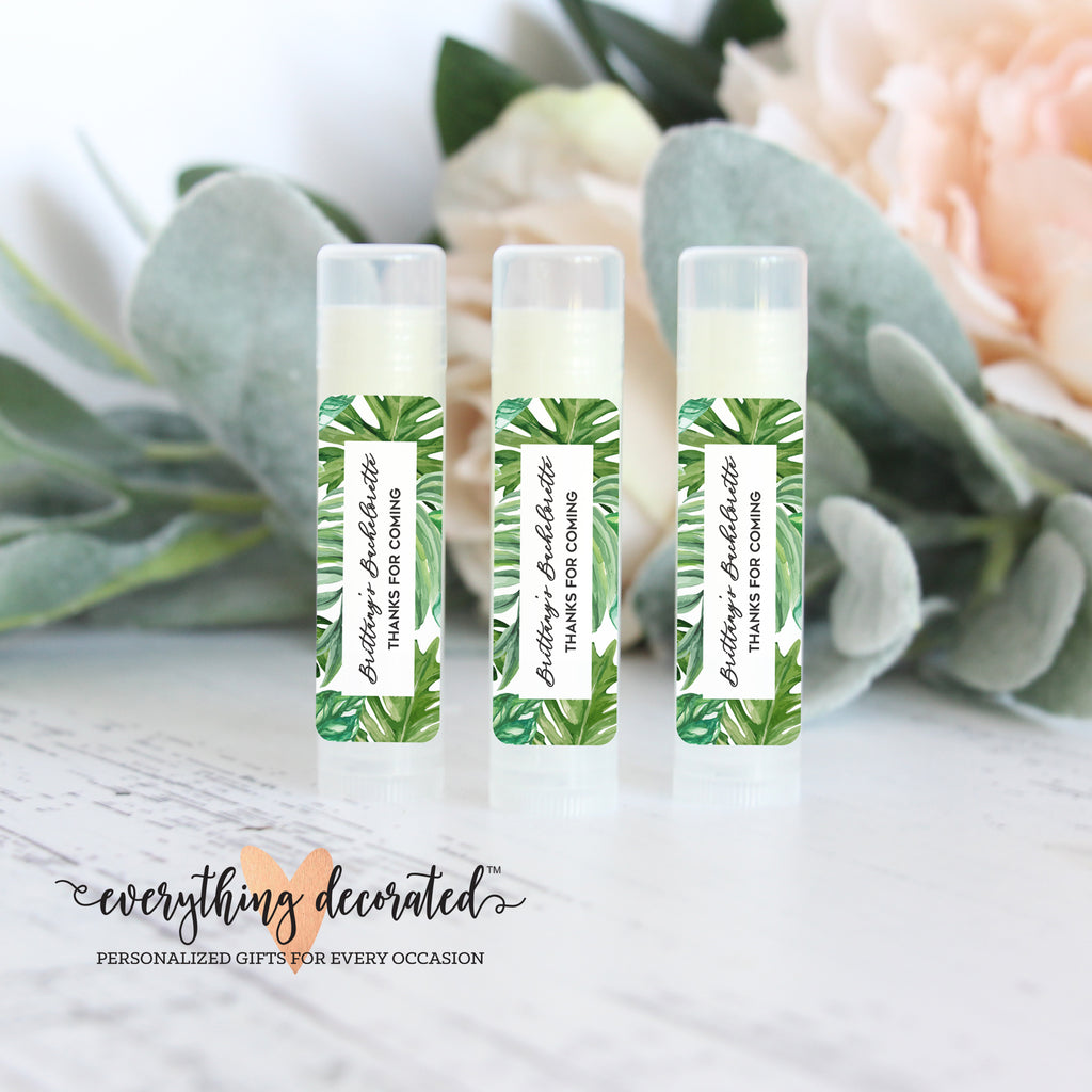 Lip Balm Favors - Tropical