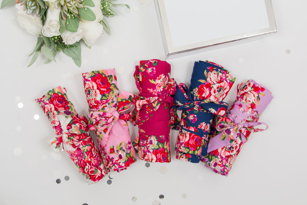 Bridal Party Floral Robes