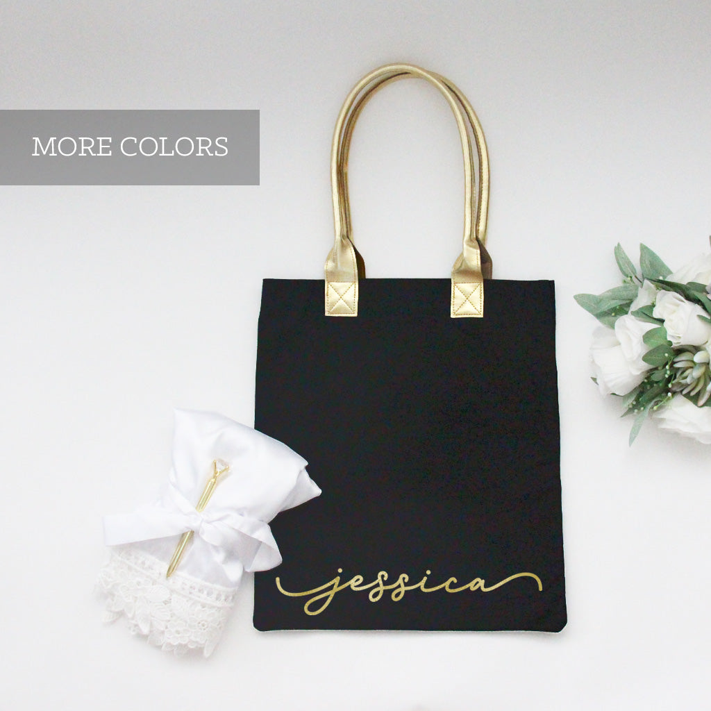 Personalized Tote Bags for Bridesmaid Gift