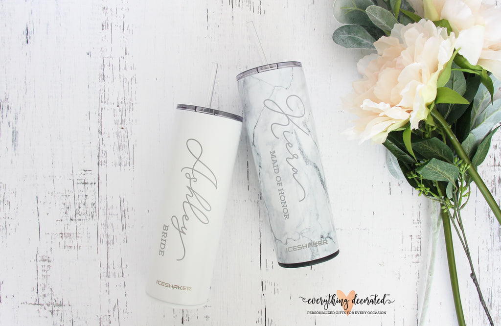 Engraved Bridesmaid Tumbler
