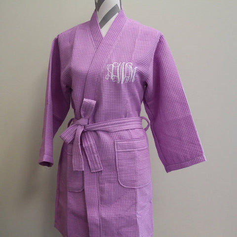 Your Australian made and manufactured robe supplier. Personalised embroided  robes.. Pictured: Bestfriend