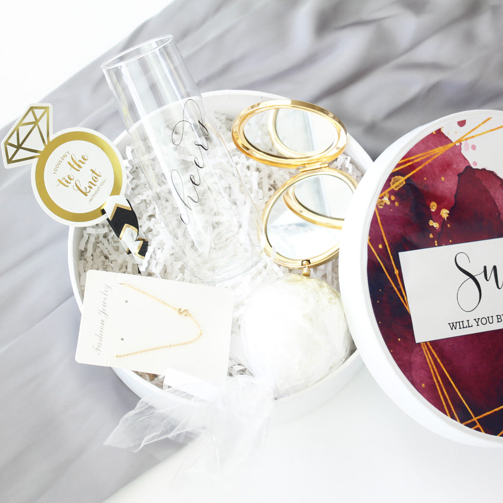 Fall Bridesmaid Gift Box Set