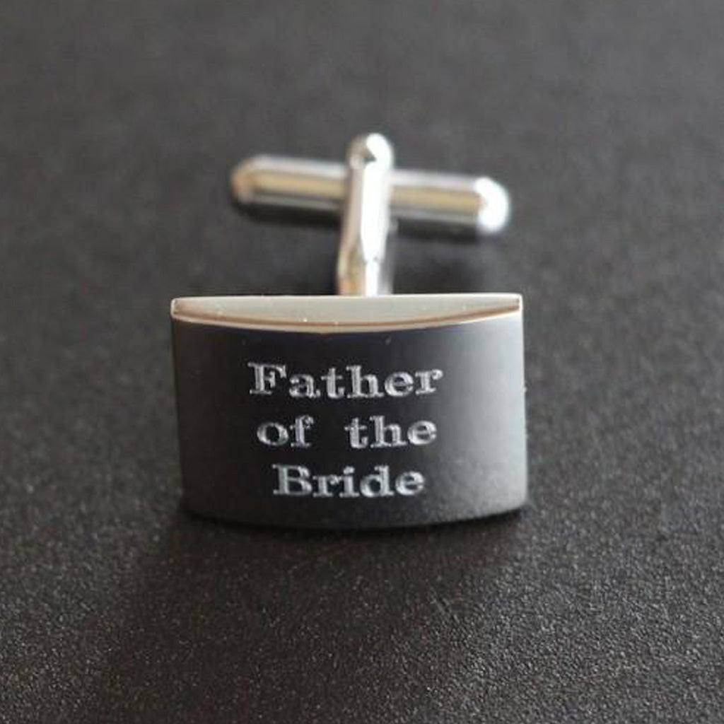 Cuff Links - Father of the Bride/Groom