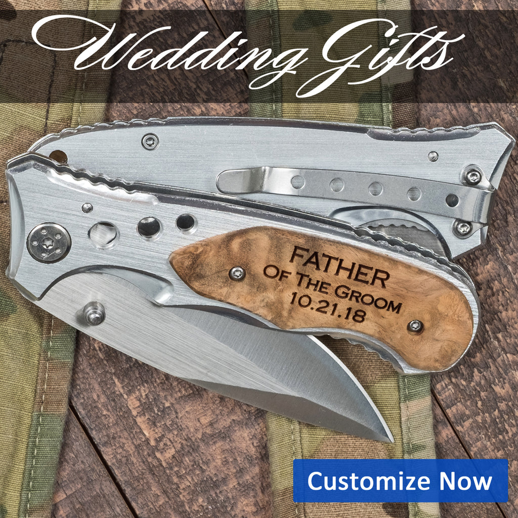 Father of the groom Pocket knife