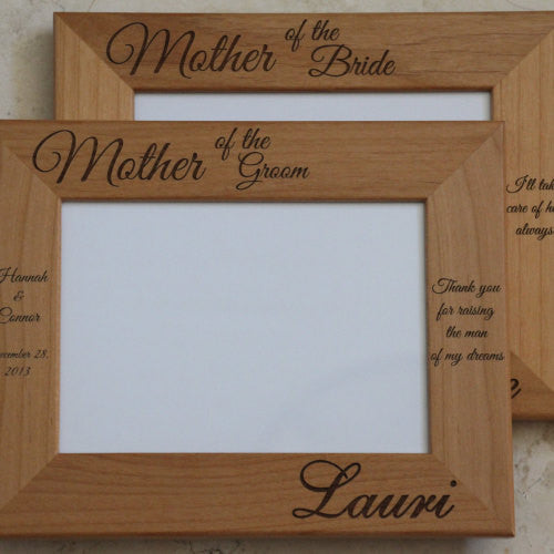 Personalized Wedding Picture Frame Mother Of The Bridegroom