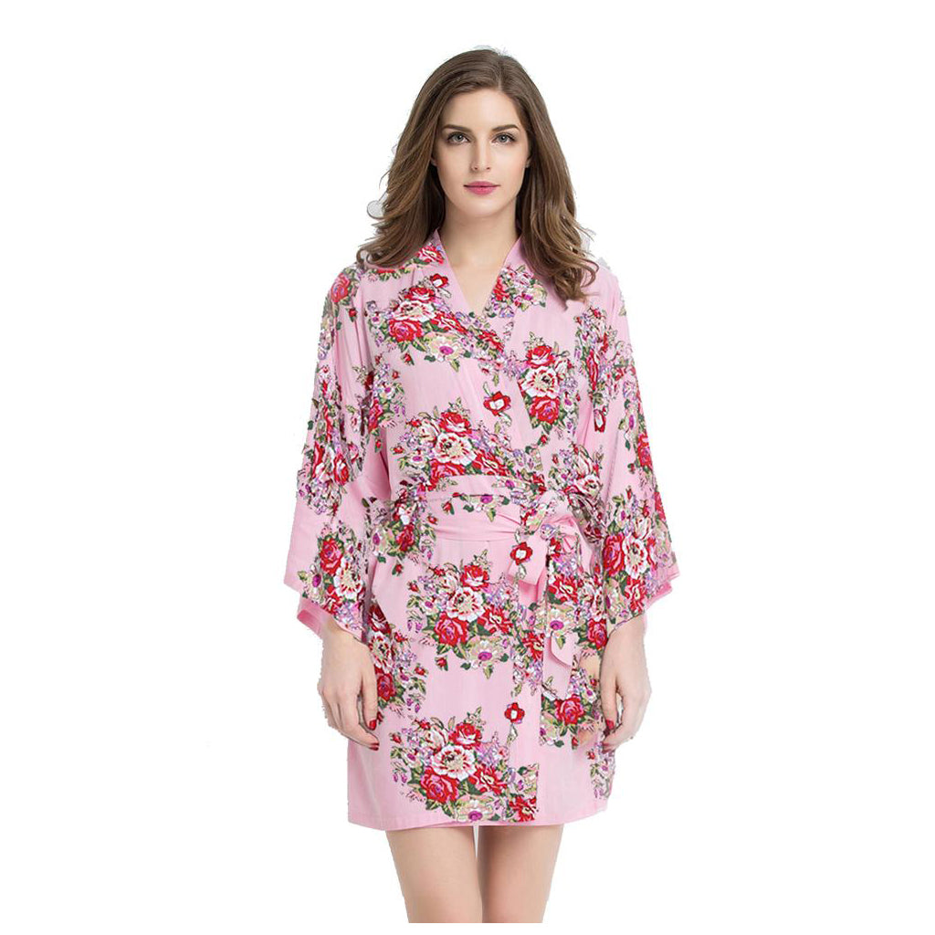 Wholesale Floral Robe