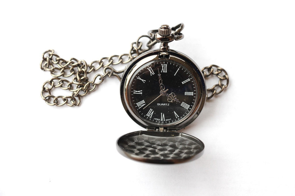 Pocket Watch - Gunmetal