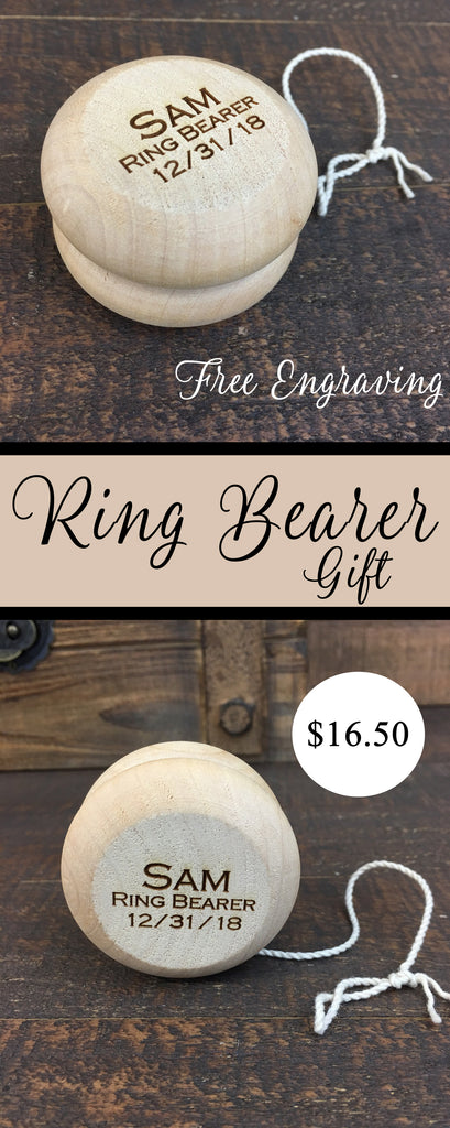 Ring Bearer gift yoyo