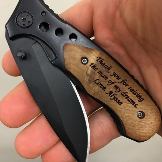 Father of the Bride & Groom Pocket knife