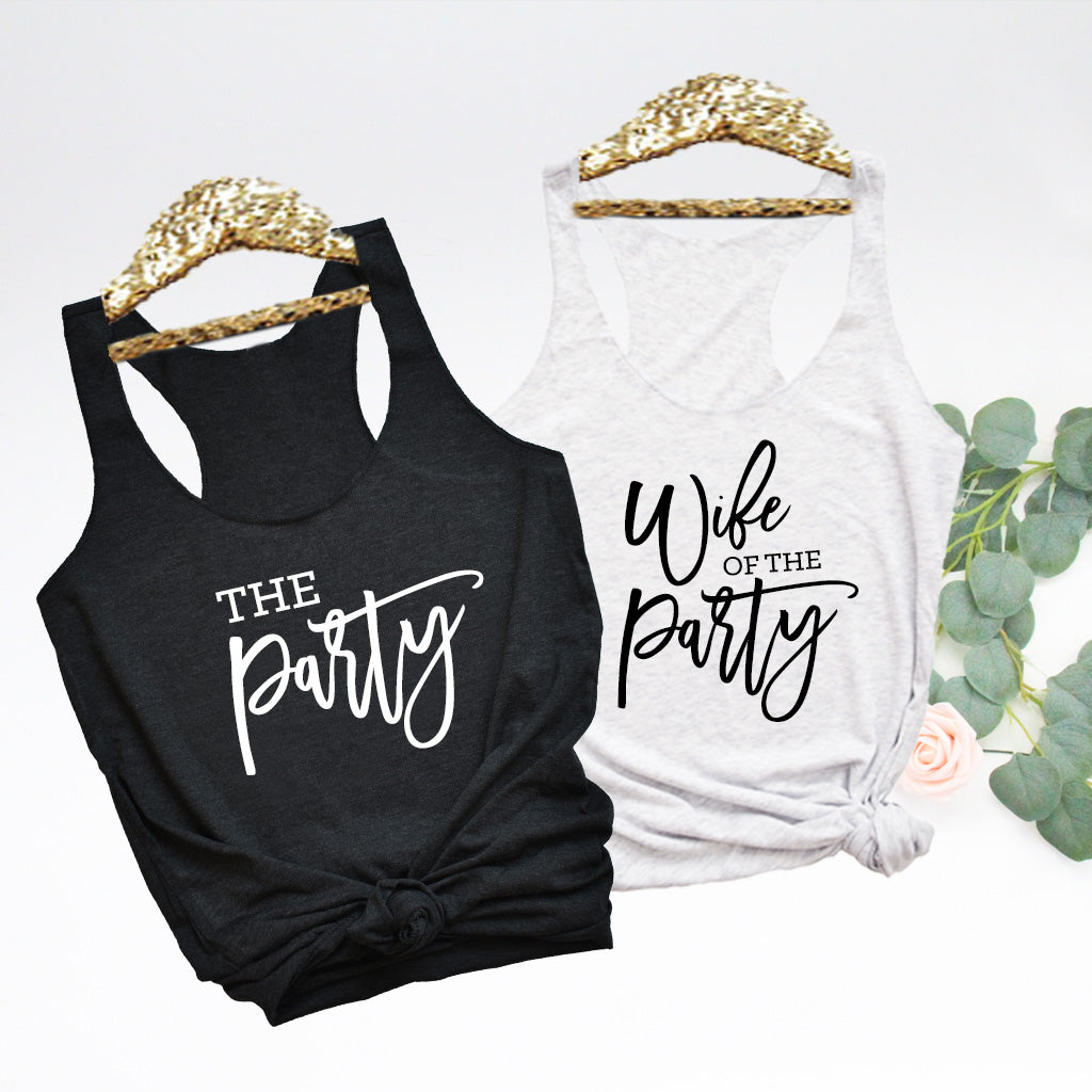 Bringing the Party Bachelorette Tanks