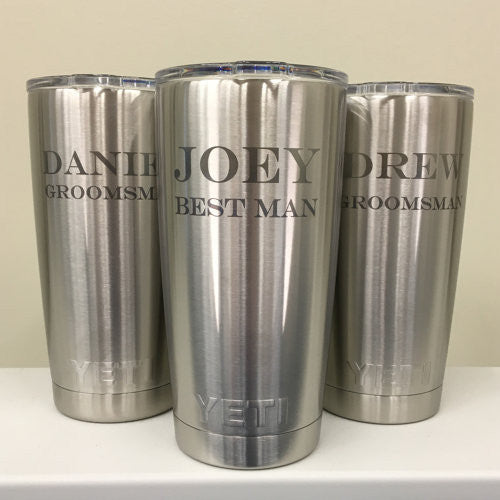 Yeti Rambler 20oz Wedding Favors