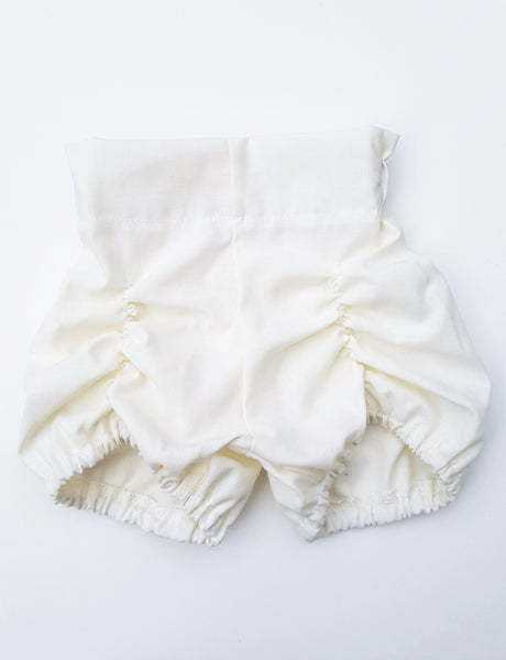 hannah bloomers in vintage white