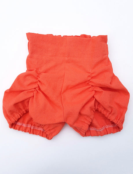 hannah bloomers in coral