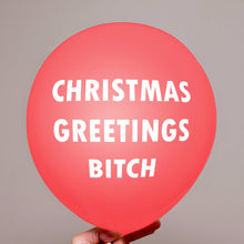 Christmas Pack of 12 Balloons