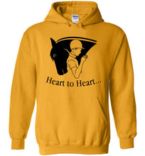 Horseful Heart - Heart to Heart Heavy Blend Hoodie