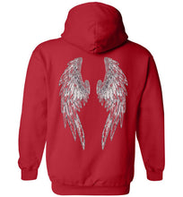 Horse Angels Heavy Blend Hoodie with Wings on Back!