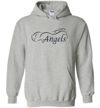 Horse Angels Heavy Blend Hoodie with Wings on Back! (black logo)