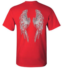 "Horse Angels ""Pledge"" Tee with Wings on Back"
