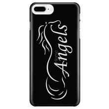New Horse Angels iPhone Cover - Black