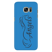 New Horse Angels Galaxy Phone Cover - Blue