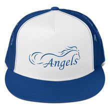 "Horse Angel Embroidered ""Trucker"" Cap"