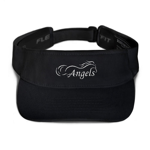 Horse Angel Embroidered Visor