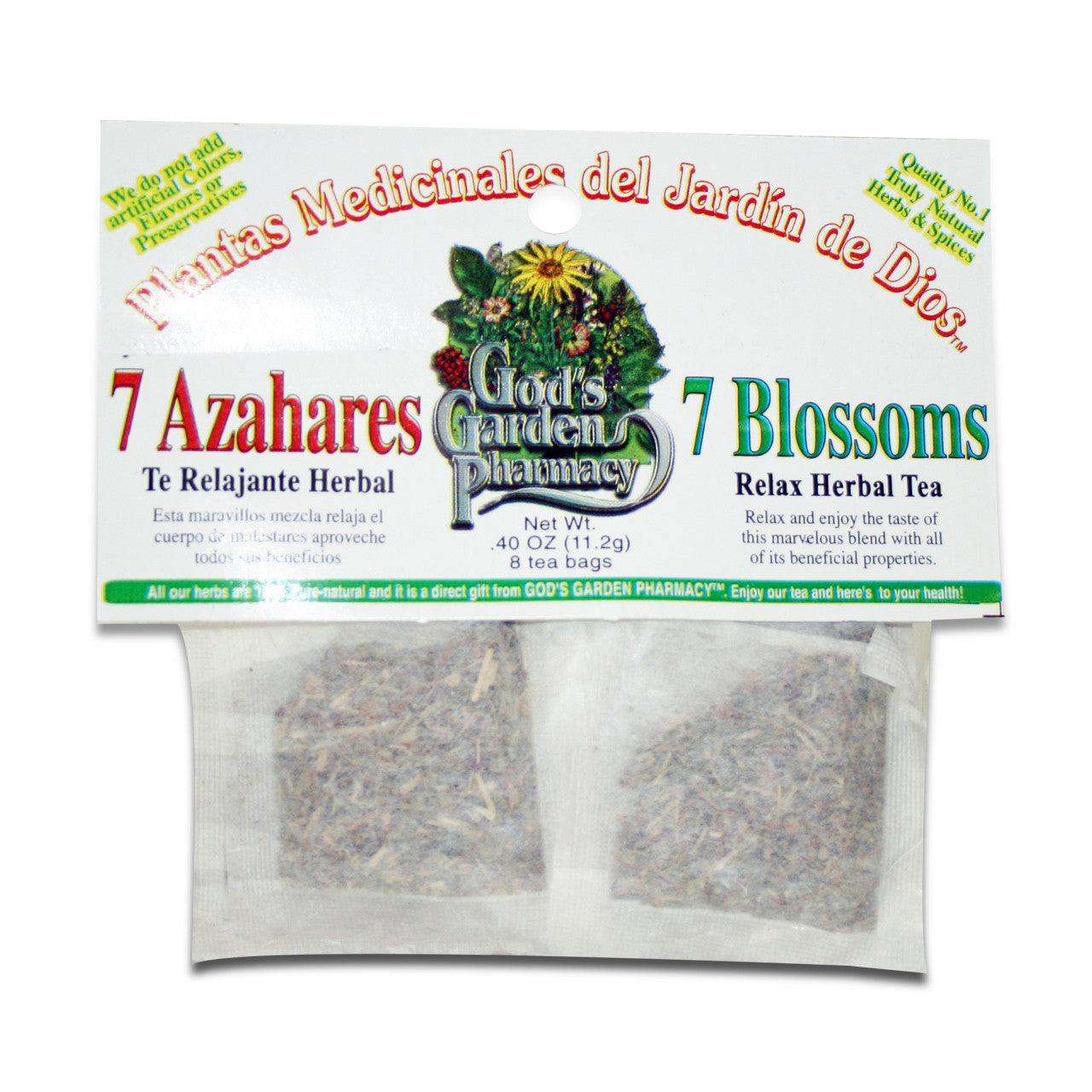 Seven Blossoms Herbal Tea - 7 Azahares