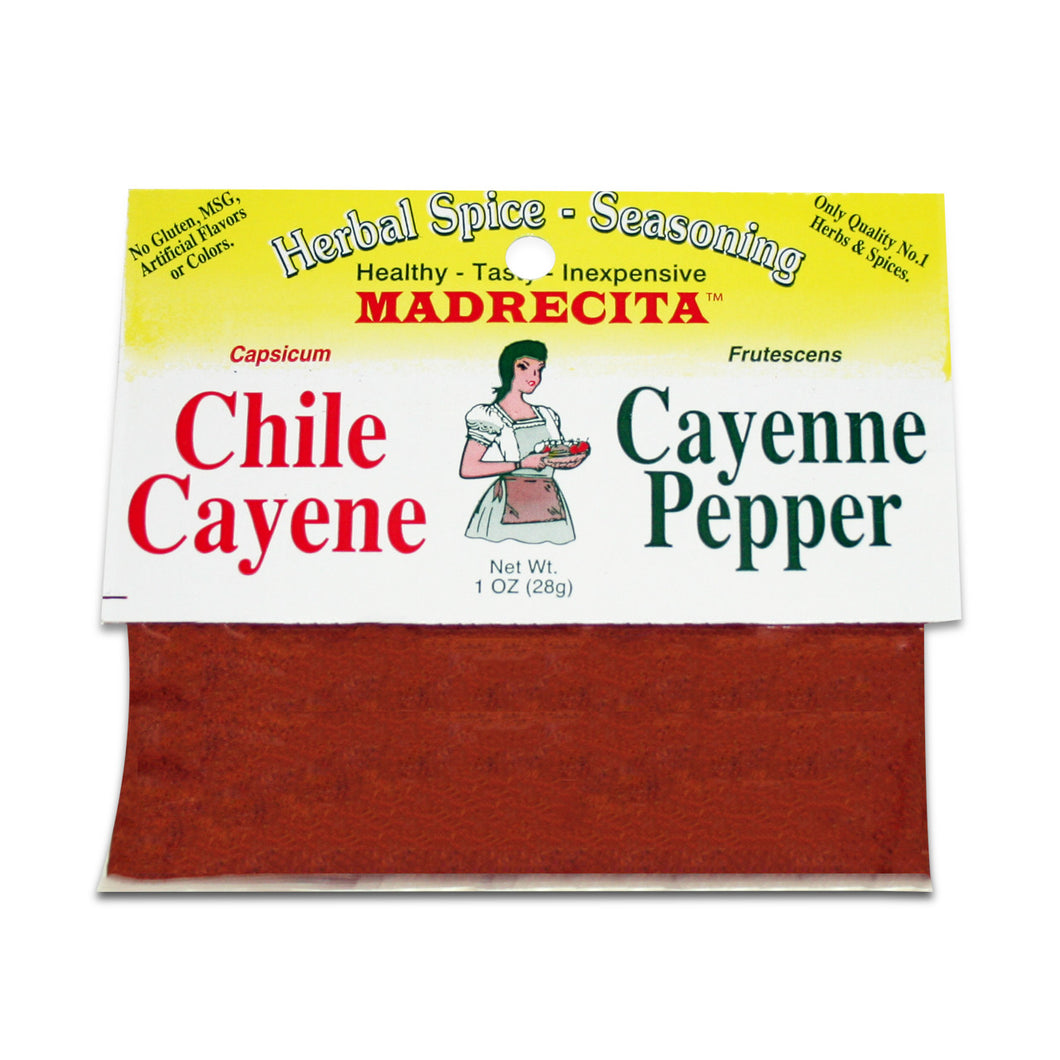 Cayenne Pepper - chile cayene