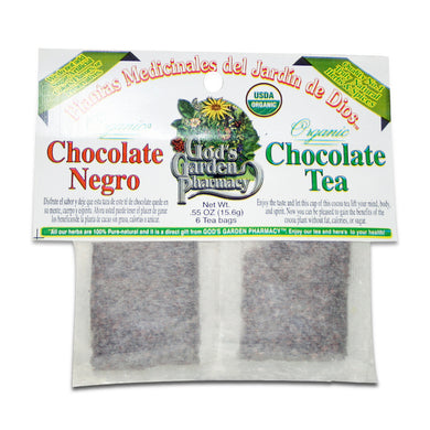 Organic chocolate herbal tea