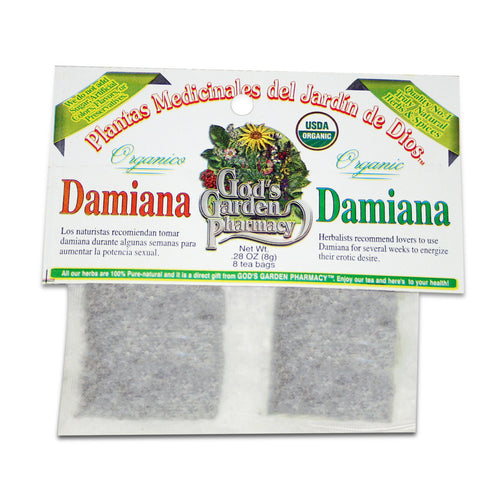 Organic Damiana Herbal Tea