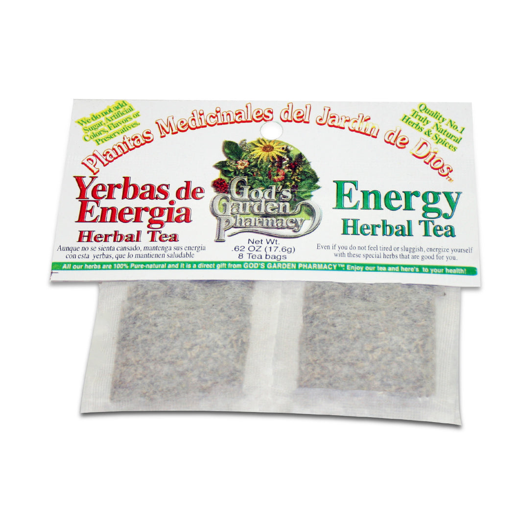 Energy Herbal Tea - yerbas de energia