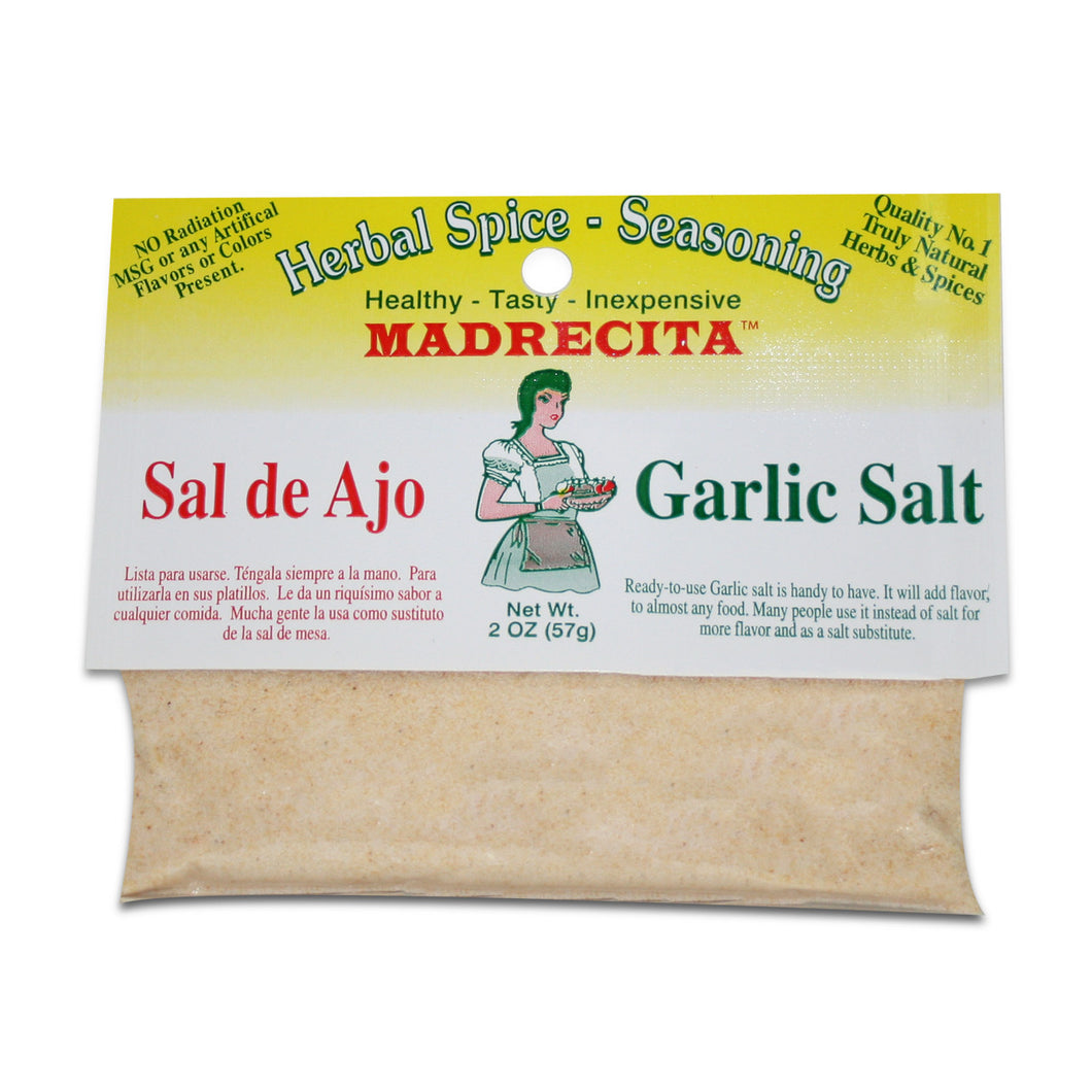 Garlic salt - sal de ajo