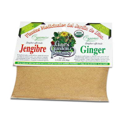 Organic ginger, ground - jengibre molida organica
