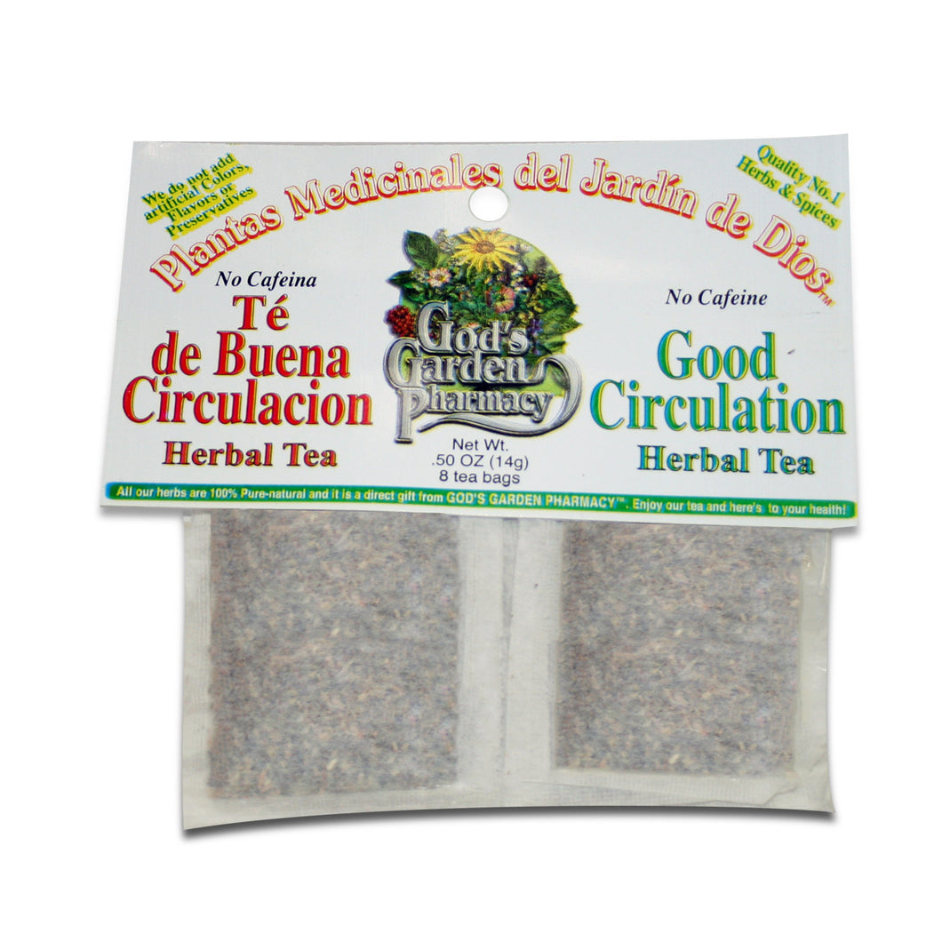 Good Circulation Herbal Tea - Té de Buena Circulacion