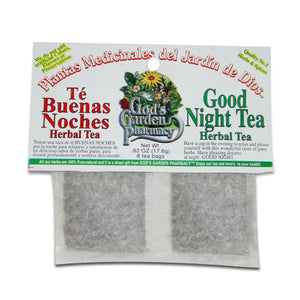 Good Night Herbal Tea - Té Buenas Noches