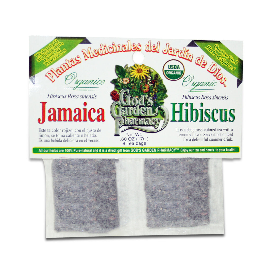 Organic hibiscus herbal tea - jamaica organica