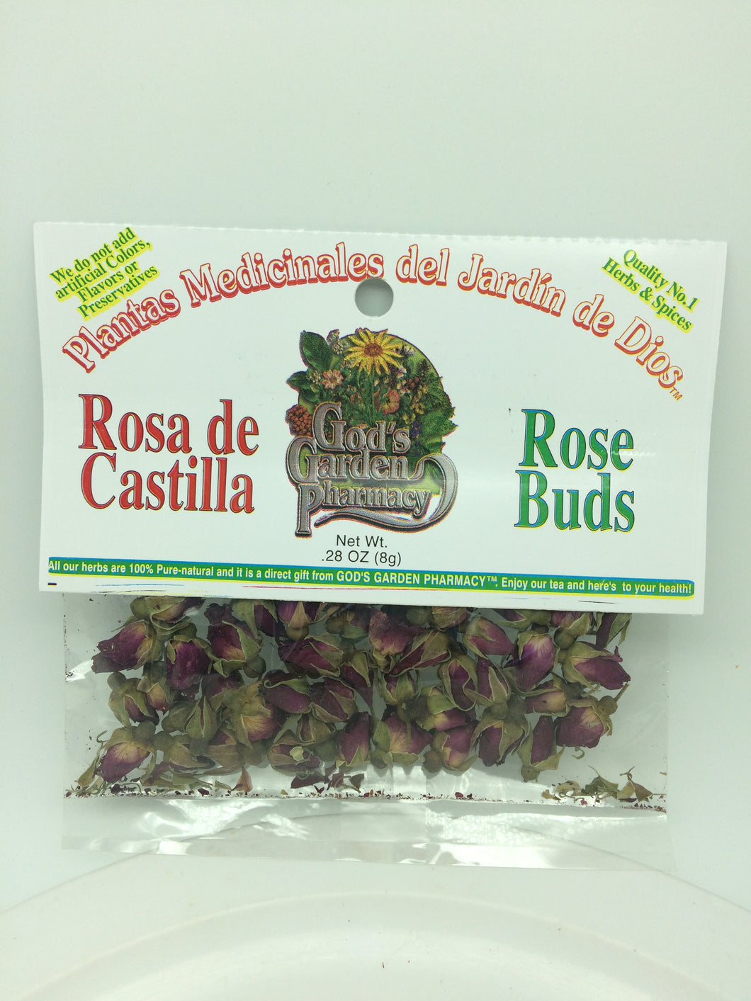Rose buds, loose
