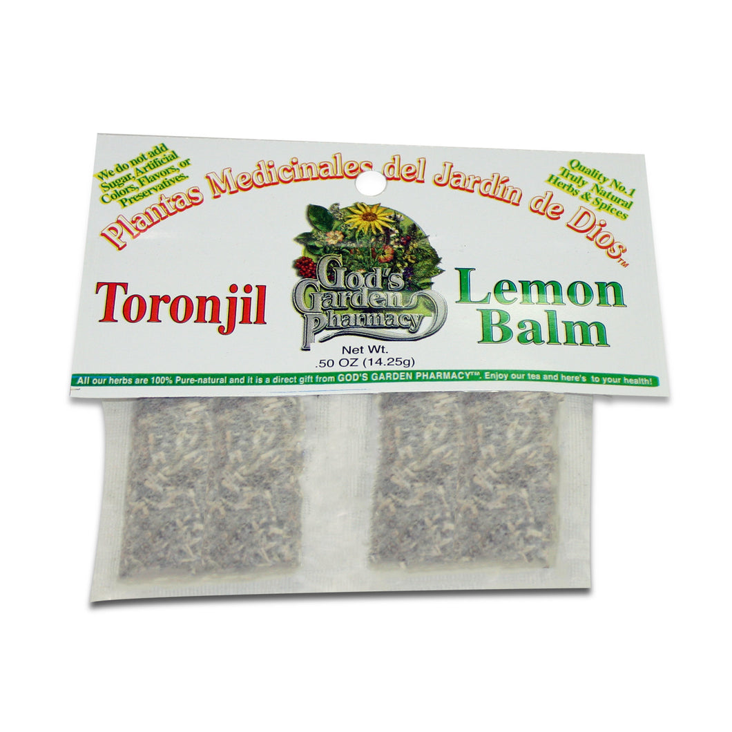 Lemon balm herbal tea - toronjil