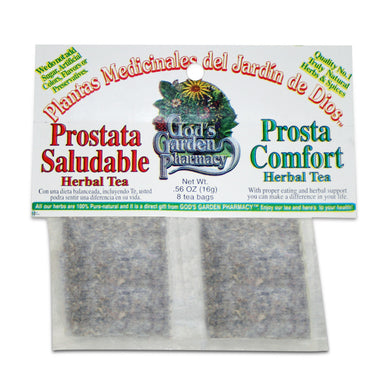 Prosta Comfort Herbal Tea - Prostata Saludable té de hierbas