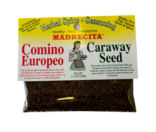 Caraway seed, whole - comino europeo