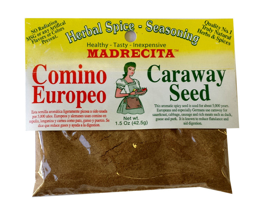 Caraway seed, ground - comino europeo