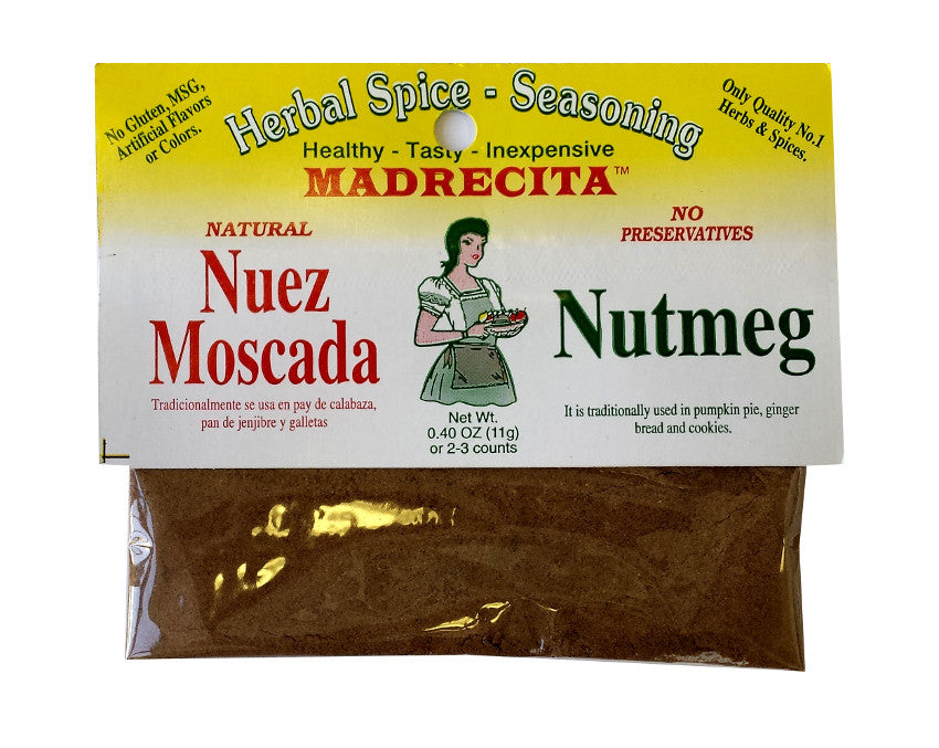 Nutmeg, ground - nuez moscada molida