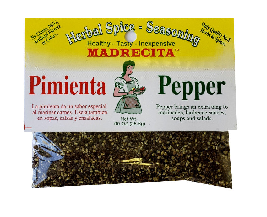 Ground pepper - pimienta molida