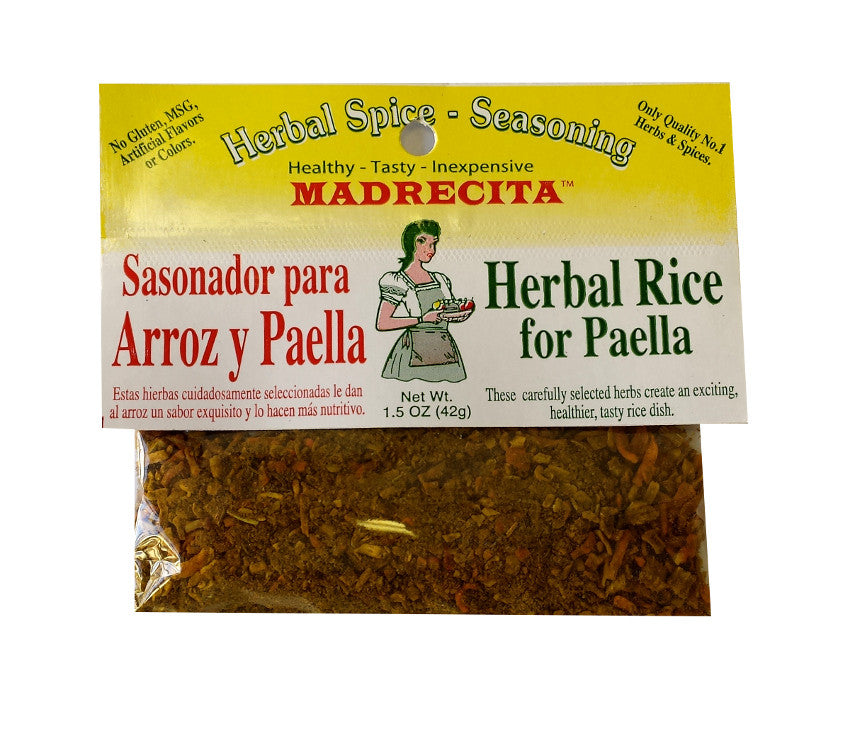 Herbal Rice for Paella - hierbas mixtas para arroz y paella