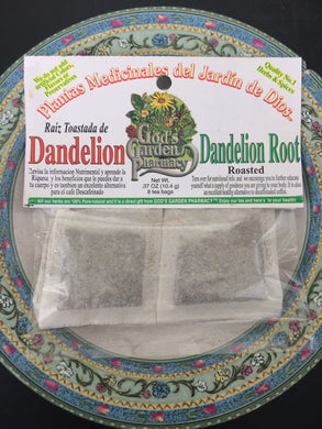 Roasted Dandelion Root Herbal Tea