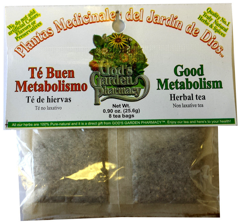 Té Buen Metabolismo - Good Metabolism Herbal Tea