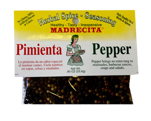 Mixed peppercorn - pimienta mixta