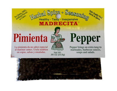 Black peppercorn - Pimienta
