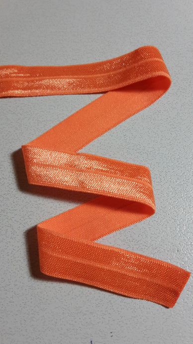 Fold-Over Elastic, Orange