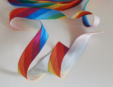 Fold-Over Elastic, Bright Rainbow